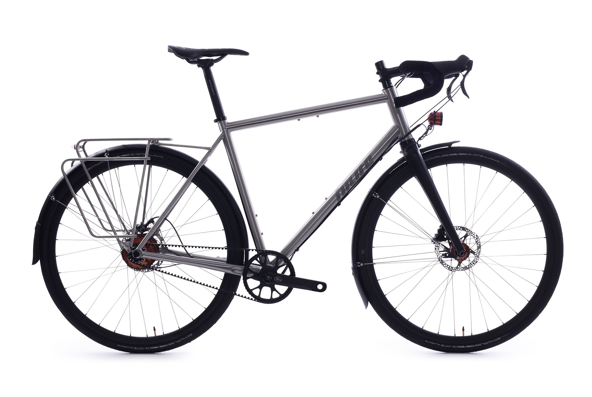 Francis' Titan Rohloff Gravel Bike