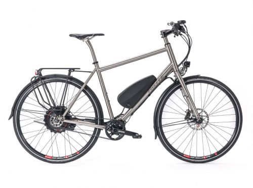s Pinion Adventure Titanium electric Bike