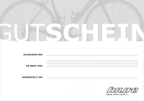 HILITE Bikes - Gutschein