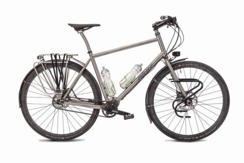 s Pinion Classic Adventure Titanium Bike