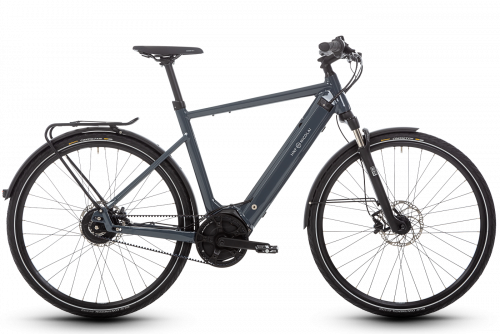 HNF Nicolai SD3 Urban Aluminum e Bike Full Blue