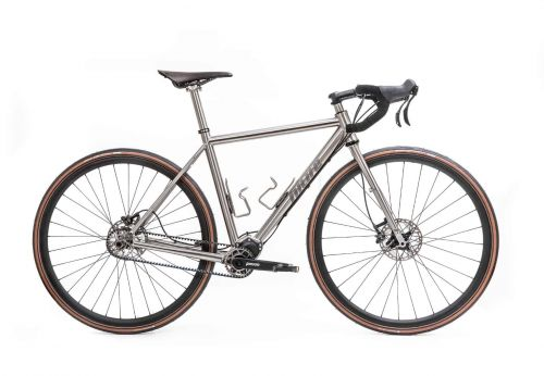 s Pinion Gravel Allroad Titanium Titan Bike - 1