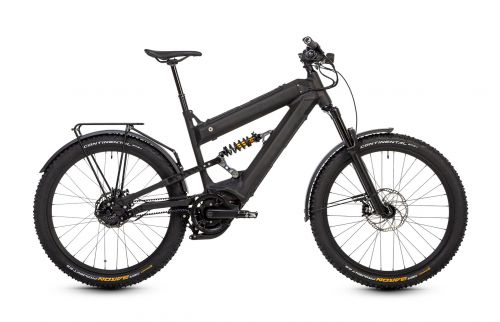 HNF Nicolai XF3 Adventure Aluminum e Bike