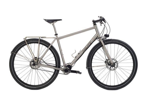 s Pinion Adventure Titanium Bike