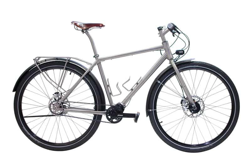 Supersportwagen mit Fahrradtr�ger