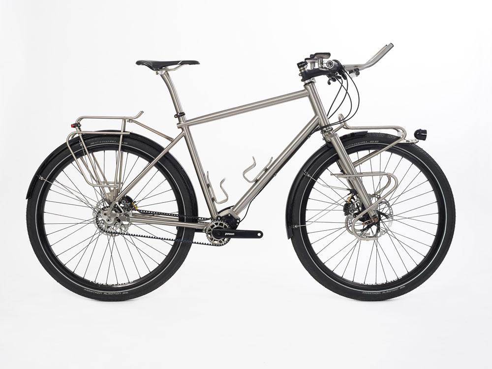 Bärbl und der Franz mit Ihren Titan Pinion Rädern in Griechenland unterwegs