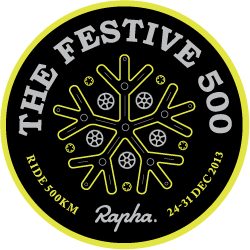 RAPHA FESTIVE 500 - 2013