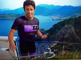 Juan-Antonio Flecha on his Titanium bicycle - HILITE Bikes