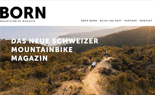 kostenloses Exemplar der MTB Zeitschrift BORN