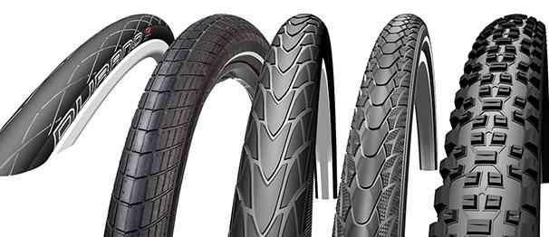 Schmale oder breite Reifen am Fahrrad