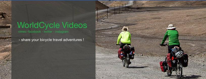 WorldCycle mit bis zu 3000 Videos
